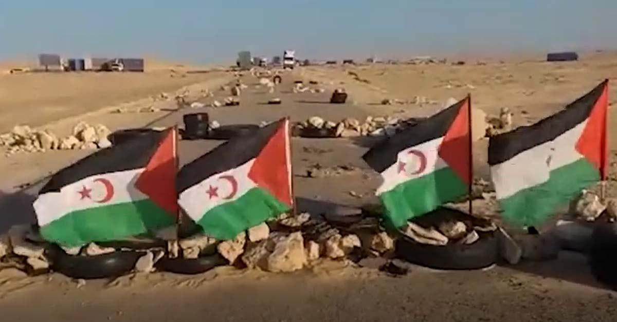 zajem zaslona / Televisión saharaui